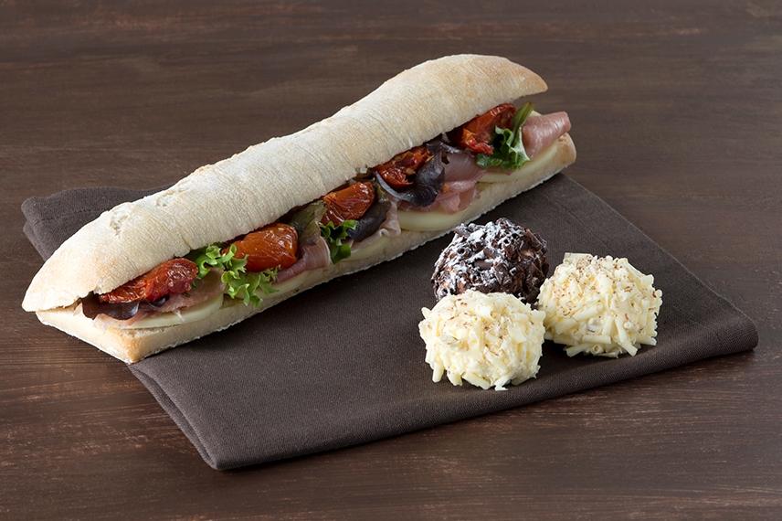 Sandwich ciabatta traiteur Yanka