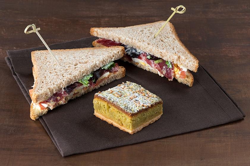 Club poulet sandwich traiteur