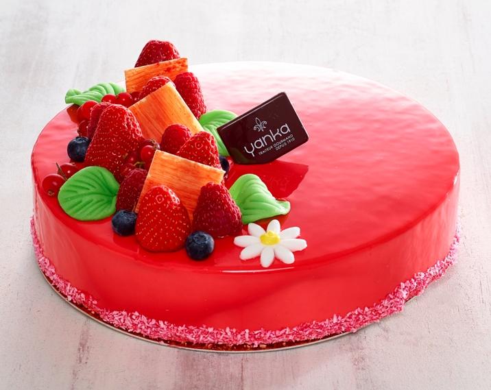 fraisier entremet yanka traiteur